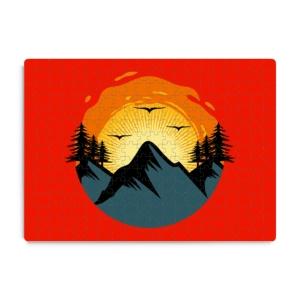 پازل طرح طلوع خورشید در کوه
