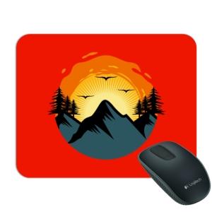 موسپد طرح طلوع خورشید در کوه