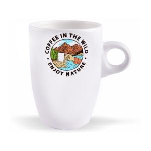 لیوان (ماگ) طرح لذت نوشیدن قهوه در طبیعت بکر