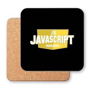 زیر لیوانی طرح برنامه نویس جاوااسکریپت