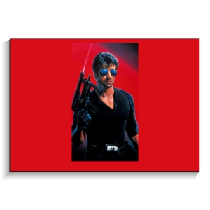 تخته شاسی طرح پوستر فیلم کبرا ۱۹۸۶ بی نوشته