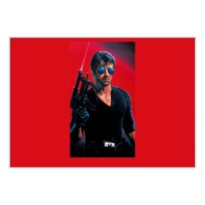 پوستر طرح پوستر فیلم کبرا ۱۹۸۶ بی نوشته