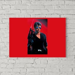 تابلو بوم طرح پوستر فیلم کبرا ۱۹۸۶ بی نوشته