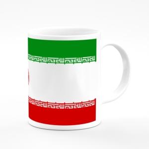 لیوان (ماگ) طرح پرچم ایران