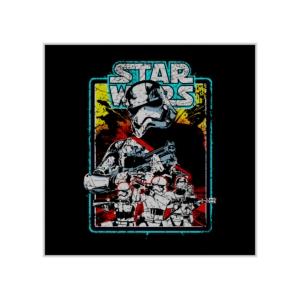 پوستر طرح سربازان امپراطوری کهکشانی، نسخه قدیمی