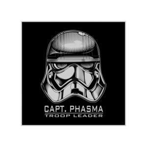 پوستر طرح  کلاهخود کاپیتان فاسما
