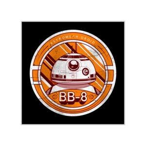 پوستر طرح  مدال BB-8