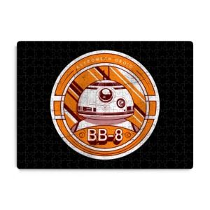 پازل طرح  مدال BB-8
