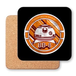 زیر لیوانی طرح  مدال BB-8