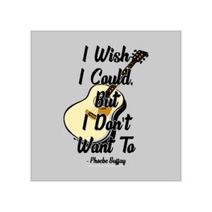 پوستر طرح جمله فیبی، آرزو میکنم که میتونستم ولی نمیخوام