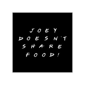 پوستر طرح جویی غذاشو با هیچکی شریک نمیشه