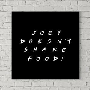 تابلو بوم طرح جویی غذاشو با هیچکی شریک نمیشه
