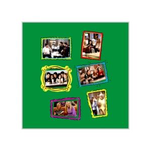 پوستر طرح  خاطرات قاب شده سریال فرندز