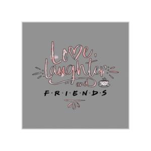 پوستر طرح عشق خنده و سریال فرندز