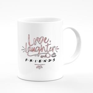 لیوان (ماگ) طرح عشق خنده و سریال فرندز