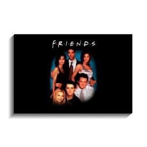 تخته شاسی طرح عکس گروه فرندز به حالت قدیمی