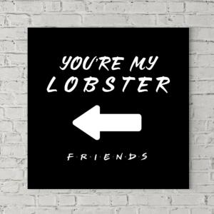 تابلو بوم طرح تو خرچنگ خودمی، فلش به چپ