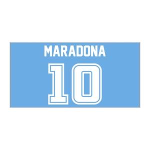 پوستر طرح دیگو مارادونا