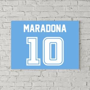تابلو بوم طرح دیگو مارادونا