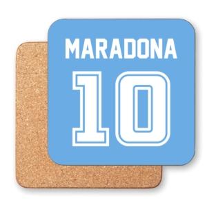 زیر لیوانی طرح دیگو مارادونا