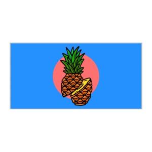 پوستر طرح آناناس
