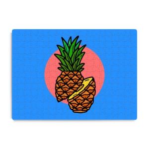 پازل طرح آناناس