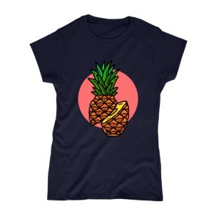 تیشرت طرح آناناس