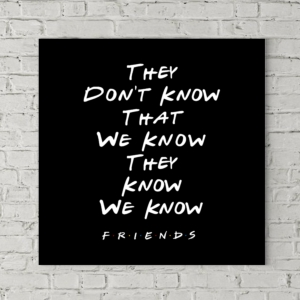 تابلو بوم طرح اونا نمیدونن که ما میدونیم اونا میدونن که ما میدونیم