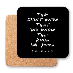 زیر لیوانی طرح اونا نمیدونن که ما میدونیم اونا میدونن که ما میدونیم