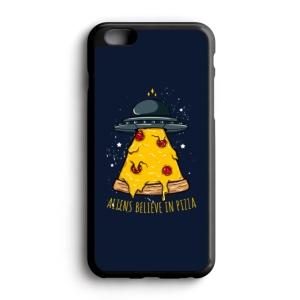قاب موبایل طرح فضاییها هم عشق پیتزا هستند
