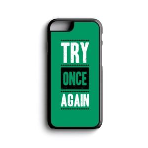 قاب موبایل طرح یه بار دیگه تلاش کن