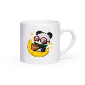 لیوان (ماگ) طرح پاندای عشق قهوه