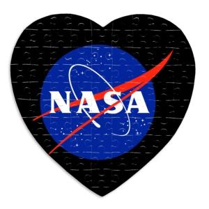 پازل طرح لوگوی ناسا
