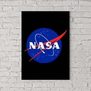 تابلو بوم طرح لوگوی ناسا
